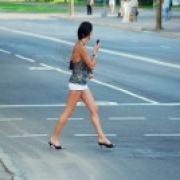 """В Омске """"семерка"""" сбила пешехода и столкнулась с """"Ниссаном"""""""