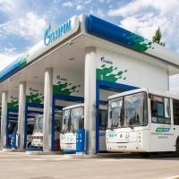 Омские автобусы снова заправляются на АЗС «Газпром нефти»