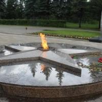 В Омске за Вечным огнем теперь следят казаки через камеры видеонаблюдения