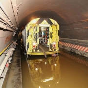 В Москве стремительно затапливает метро