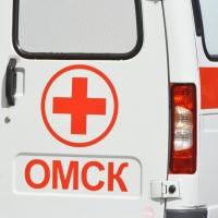 В Омске на пешеходном переходе сбили женщину и мужчину