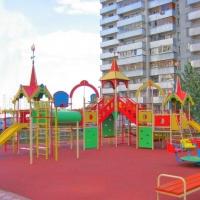 В Омске появится 70 новых детских площадок