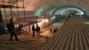 В Омске продолжается строительство первой линии метро