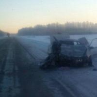 На трассе Тюмень-Омск произошло ДТП: один человек погиб, пятеро в больнице