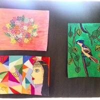 Работы омских юных художников слились в «Симфонию цвета»