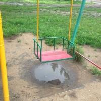 Вопрос с бесхозной детской площадкой на Гашека еще не решён
