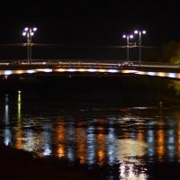 На Юбилейном мосту в Омске будут зажигать «Летящую звезду»