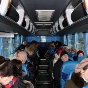 Омская полиция заявила, что водителя междугороднего автобуса ослепили фарами