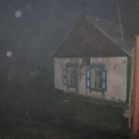 В Омской области в пожаре погиб хозяин частного дома