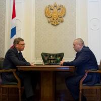 Врио губернатора Омской области предложил Сергею Фролову стать его замом