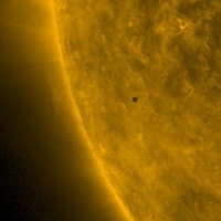 Меркурий 9 мая прошел между Землей и Солнцем