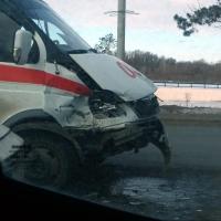 В Омске произошло ДТП со «скорой»