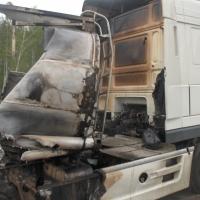 В омской области от пожара чуть не взорвалась автозаправка
