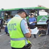 Эксперты оценили техническое состояние попавших в ДТП под Омском автобуса и КамАЗа