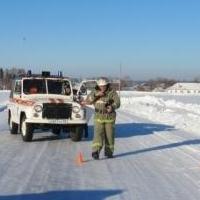 Под Омском пожарные спасли замерзающих граждан, попавших в ДТП