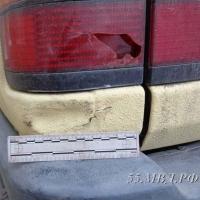 Выпускник из Омска разбил угнанную машину