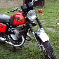 В Омской области подросток на мотоцикле допустил наезд на велосипедиста