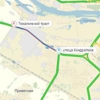На прошлой неделе в Омске зафиксировали 8-балльные пробки