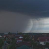 На Омскую область надвигаются ливни и дожди