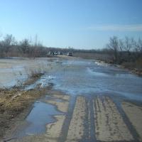 Из-за паводка в Казахстане перекрыли дорогу на Омск