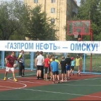 В Омской области Ирина Роднина приняла участие в церемонии открытия мини-стадиона