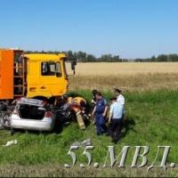 Три человека погибли в результате ДТП в Москаленском районе Омской области