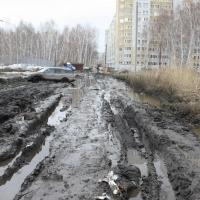 Омич предупреждает о грязевой «ловушке» на Волгоградской