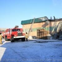 В Омской области горели склады с газированной водой компании Spring