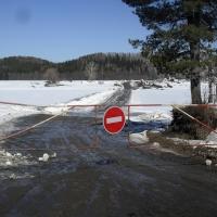 МЧС: в Омской области закрыта последняя санкционированная ледовая переправа