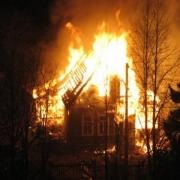 Три человека стали жертвами пожара в Омской области