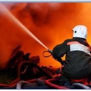 В Омске пострадал от пожара Центральный рынок