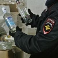 За сутки у омичей изъяли 117 л нелегального алкоголя