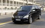 В Омске на 9-й Северной горел Mercedes-Benz Viano