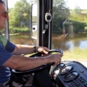 Лучшие водители страны укрощали «тёщу» на конкурсе профессионального мастерства