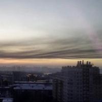 Омичи зафиксировали странный смог в городе