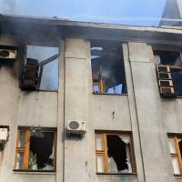 Обстрелявшие химзавод на Украине подвергли опасности три страны