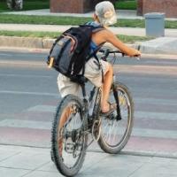 В Омске сбили ребёнка на велосипеде