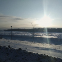 Теплый и снежный ноябрь продолжается в Омской области