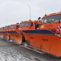Первый снегопад в Омске выйдут убирать 76 машин