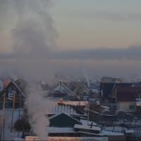 Зима в Омске началась не по календарю