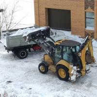 Сельские дорожники помогут вывезти снег из частного сектора Омска