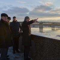 Врио губернатора Омской области пришел в ужас от состояния набережной Иртыша