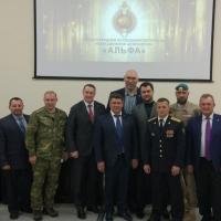 В омской академии МВД побывал Валуев и бойцы спецназа «Альфа»