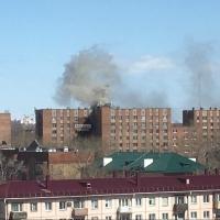 В общежитии автодорожного университета Омска случился пожар