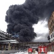 В Омске поднимается паника по поводу взрыва на заводе