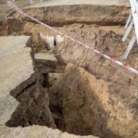 В Омской области разрушилась новая дорога