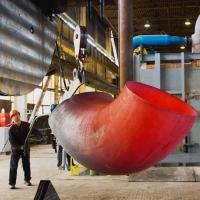 По уникальной технологии омичей на «Сибгазстройдетали» начали изготавливать детали трубопровода