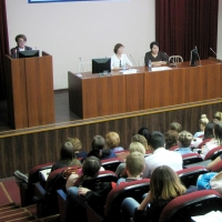 Студенты ОмГАУ узнали о численности населения Омской области во времена освоения целины