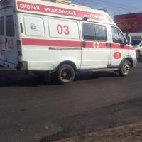В Омской области маршрутка съехала в кювет