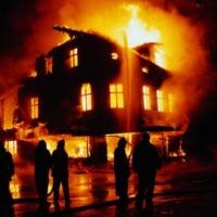 В ночь после Дня города в Омске трижды горела область